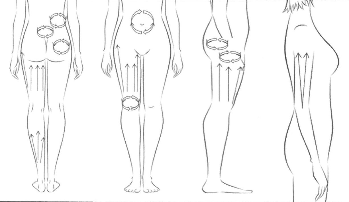 Schéma Corps MassRoler Body Sculptor